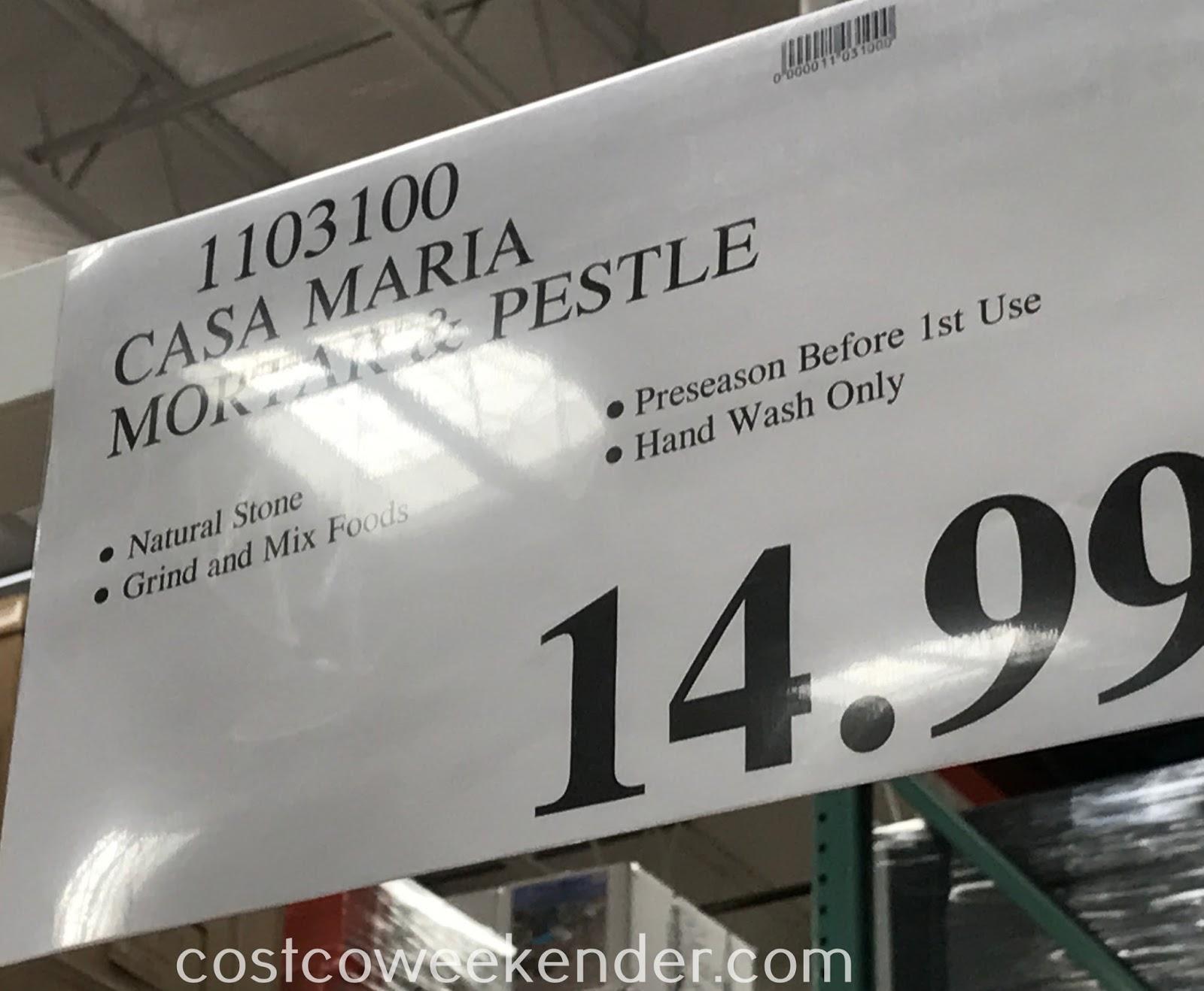 Deal for the Casa Maria Molcajete at Costco