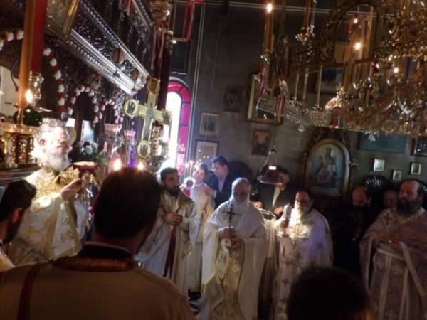 Ι.Μ. Κορίνθου: Εσπερινός της Αγάπης στην Ιερά Μονή Αναστάσεως στο Λουτράκι (φώτο)