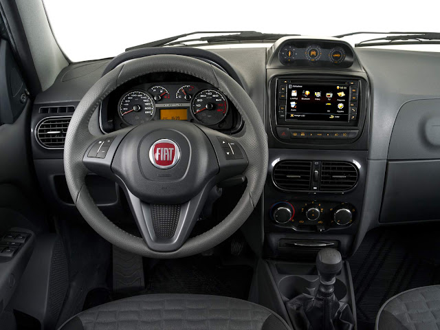 Fiat Palio Weekend 2016 Adventure Extreme - interior