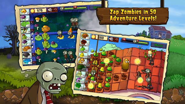 plants vs zombies hile apk indir