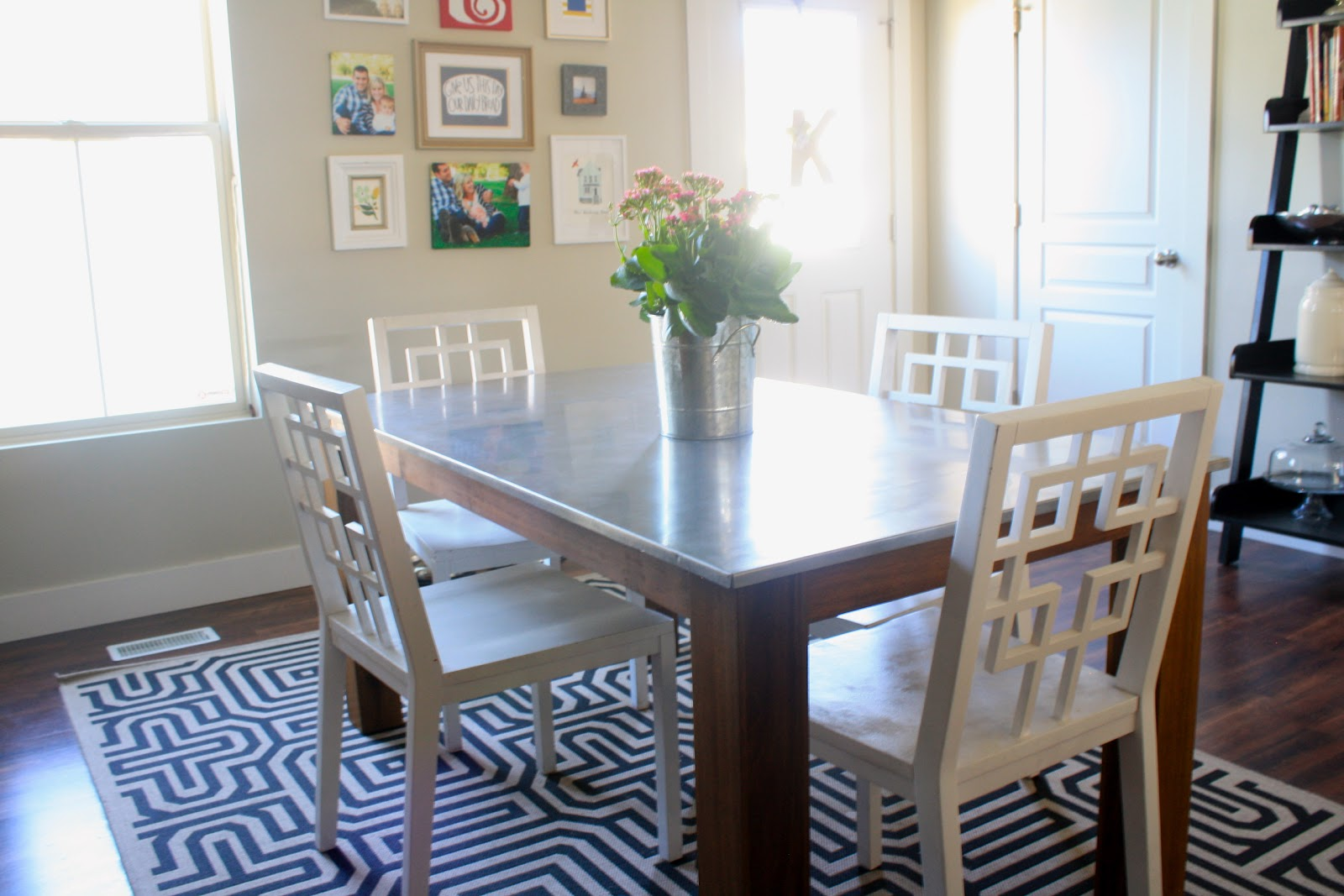 i finally have new kitchen table stainless steel kitchen table I Finally Have a New Kitchen Table