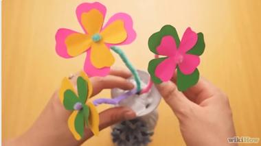 5 Cara Mudah Membuat Bunga Kertas Origami
