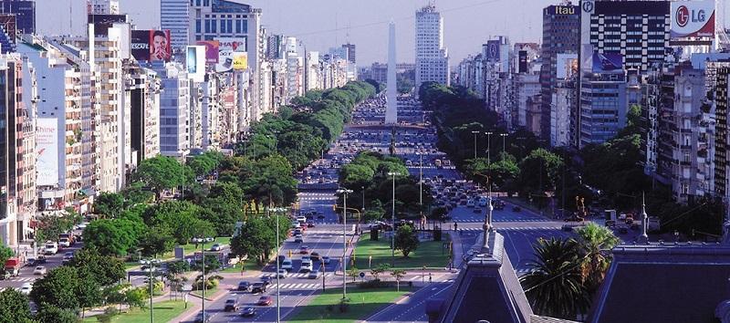 pontos turísticos em Buenos Aires vista da cidade