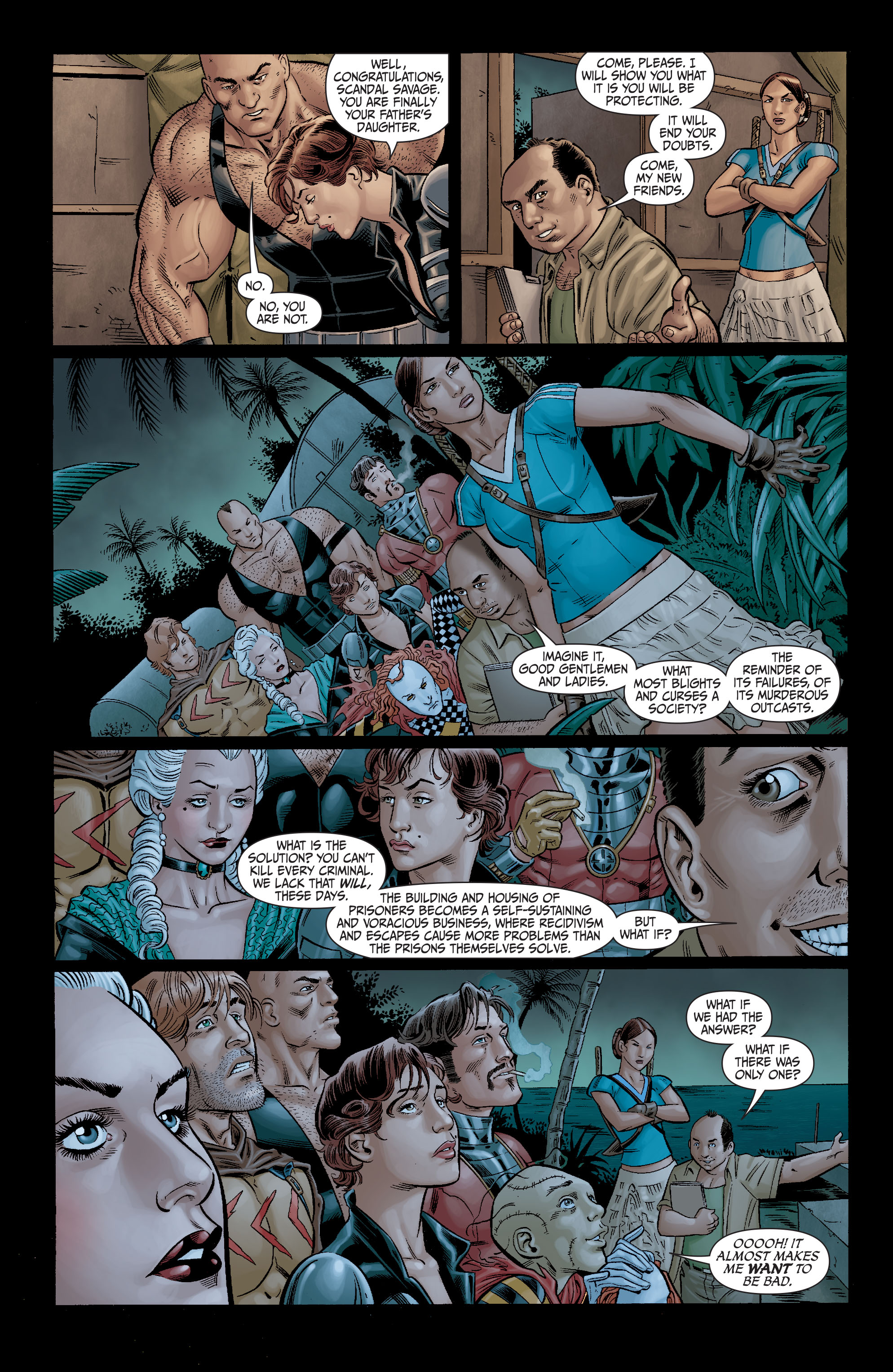 Read online Secret Six (2008) comic -  Issue #11 - 13