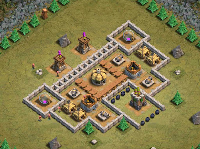 Goblin Base Clash of Clans Sicilian Defence