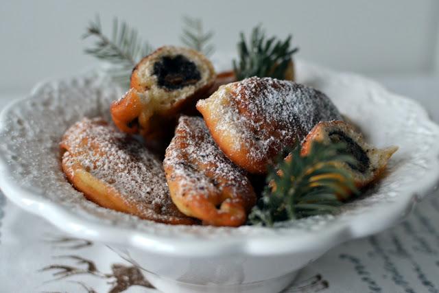 makowiki Pierogi z makiem (smażone)