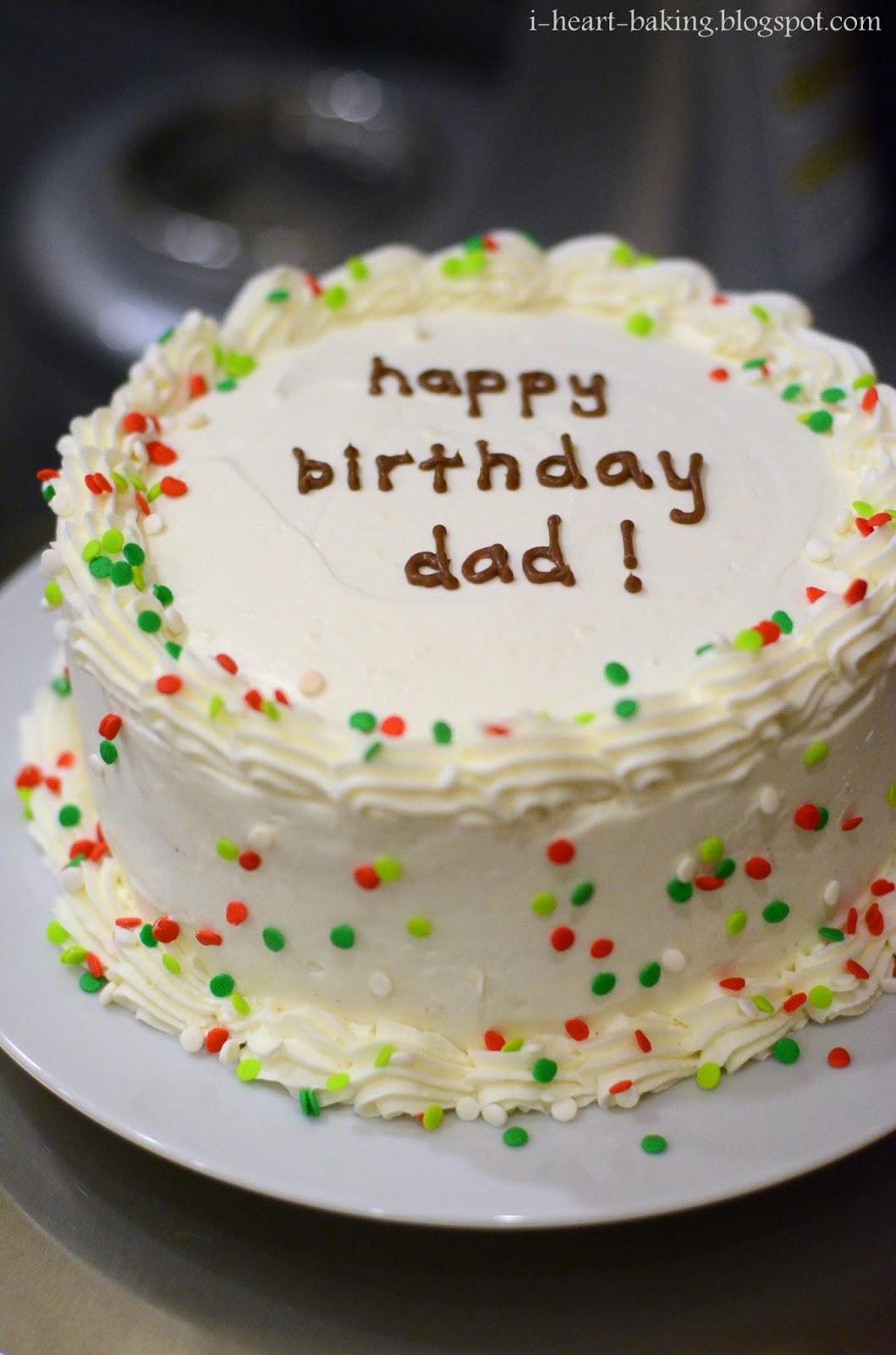 i heart baking holiday birthday ice cream cake
