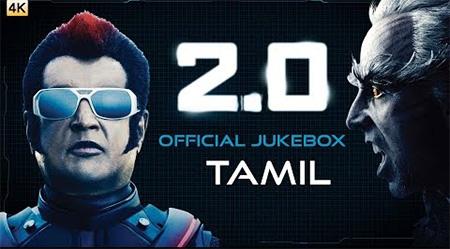 2.0 – Official Jukebox (Tamil) | Rajinikanth, Akshay Kumar | Shankar | A.R. Rahman