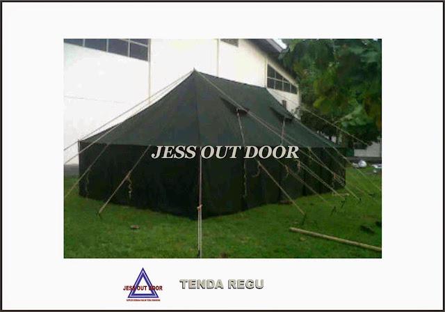 Pabrik Tenda TNI, Tempat, Produksi, Pembuat Tenda Regu TNI
