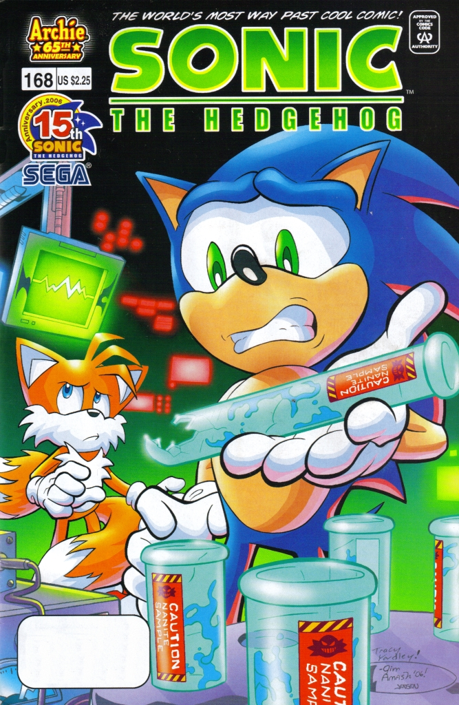 Read online Sonic The Hedgehog comic -  Issue #168 - 1