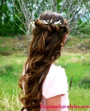Tremendous Hairstyles For Girls Princess Hairstyles Halloween Short Hairstyles Gunalazisus