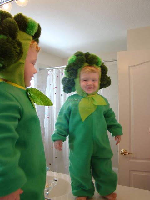 disfraz de brócoli  El brócoli  más guapo del mundo