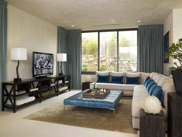 Contemporary Living Room Decorating Design Ideas 2012 By ...