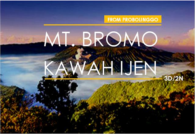 Overland Package [Probolinggo-Bromo-Kawah Ijen]