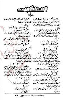 Ik harf e mukarrar hai mohabbat by Fizza Hashmi Last Part Online Reading