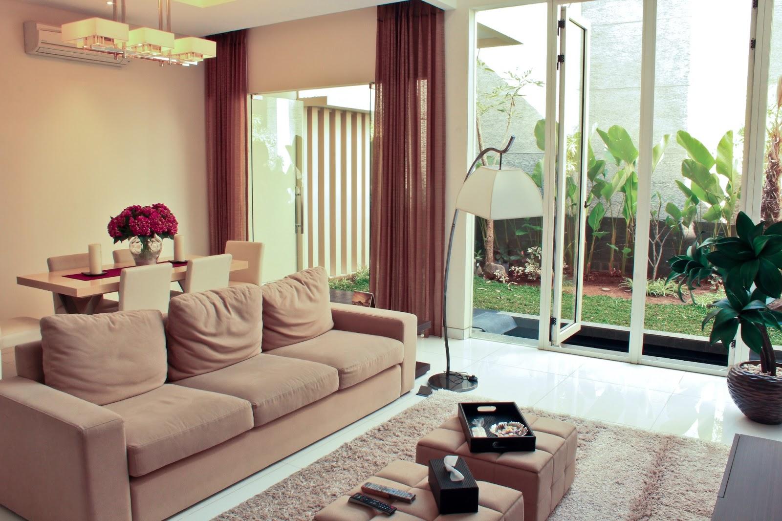 Contoh2 Ruang Keluarga Yang Cantik  Rumah Taman Cantik Blog