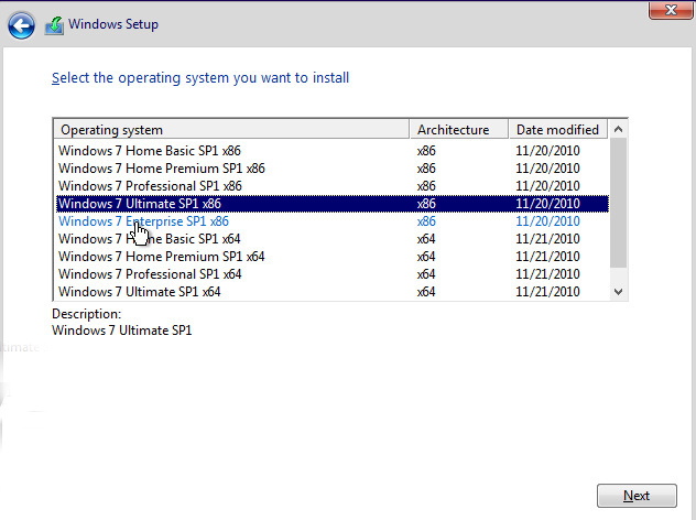 windows 7 all versions details