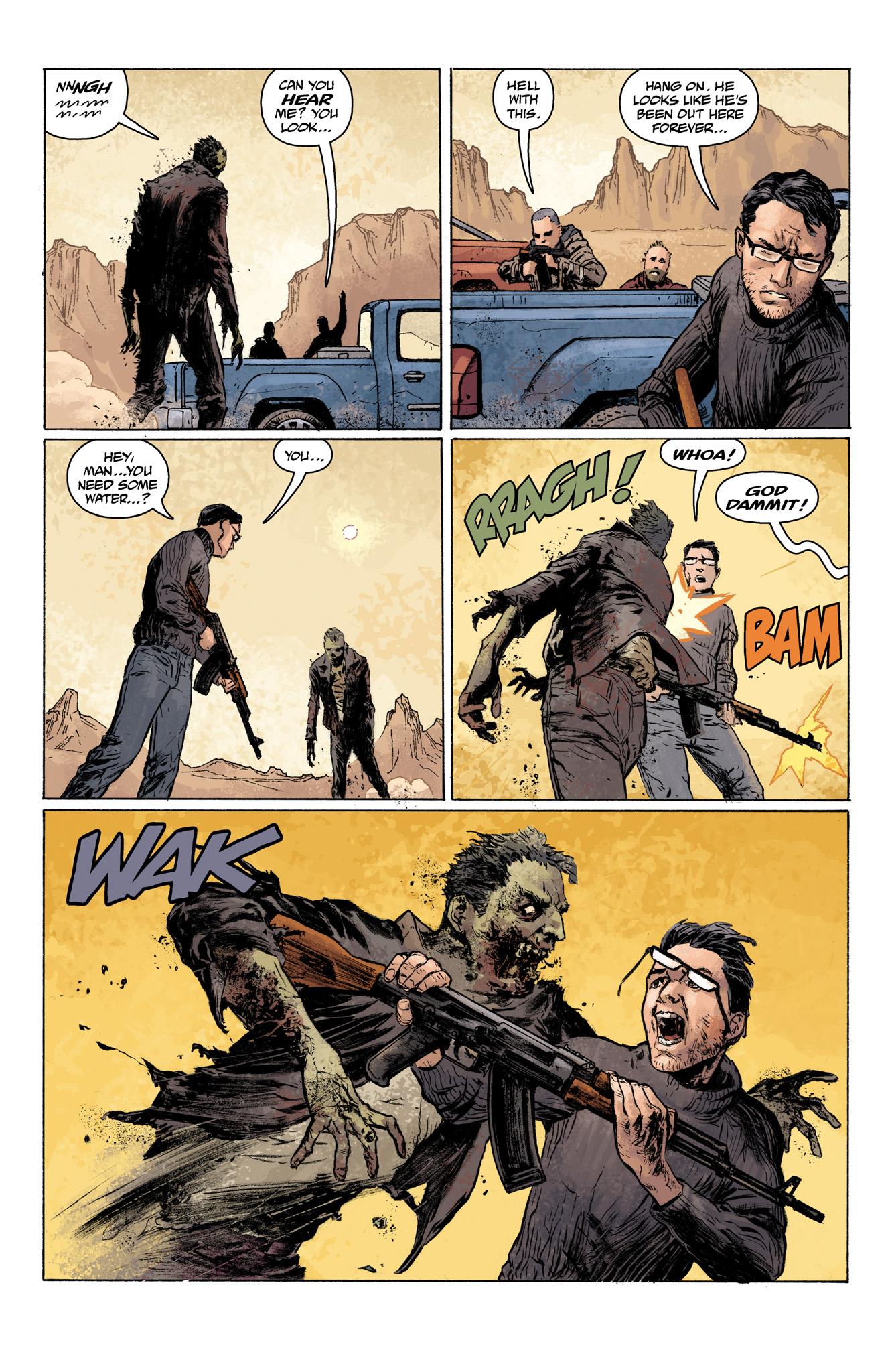 Read online Abe Sapien comic -  Issue #7 - 7