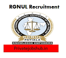 RGNUL Recruitment