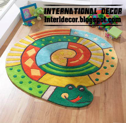 9 Modern Carpets Kids models colors for For Girls room ...