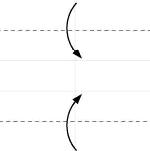Bước 6: Gấp 2 cạnh giấy vào trong