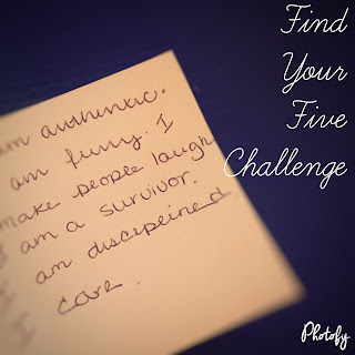 the five challenge, sweat bigger, you matter, confidence booster