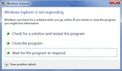 Cara Mudah Mengatasi Komputer Yang Sering Not Responding Lama