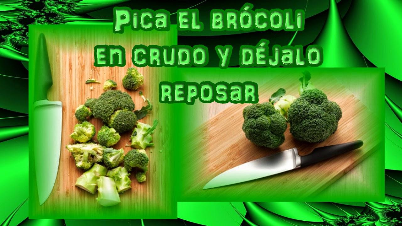 Batido con brocoli