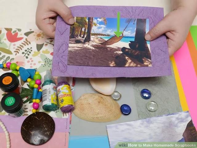 Scrapbooks Anı Defteri Yapımı