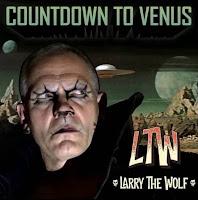 """Το τραγούδι του Larry The Wolf """"Countdown To Venus"""" από το ομότιτλο single"""