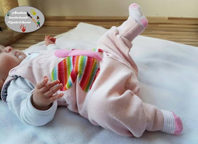 Babyhose nähen: Latzhose, Trägerhose Schnittmuster und Nähanleitung