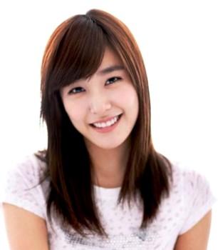 Style rambut sebahu ala wanita korea