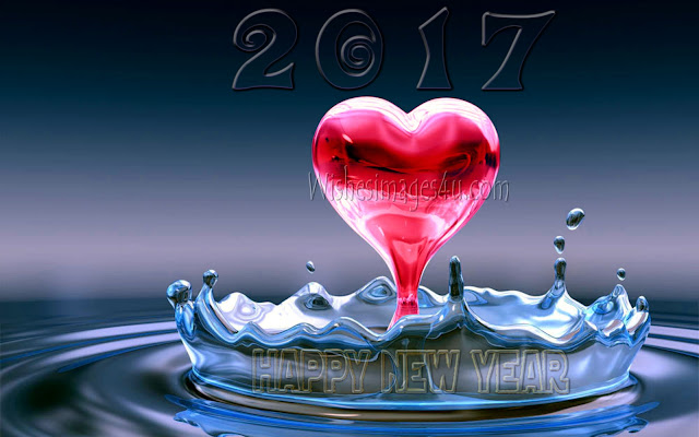 Happy New Year 2017 Love Full HD Desktop Background Wallpapers