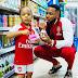 Flavour et sa fille rendent hommage à Arsene Wenger... voici la photo