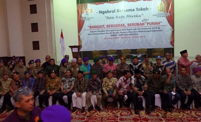 Mantan Jenderal Berkumpul, Serukan Kembali ke UUD 45 Asli