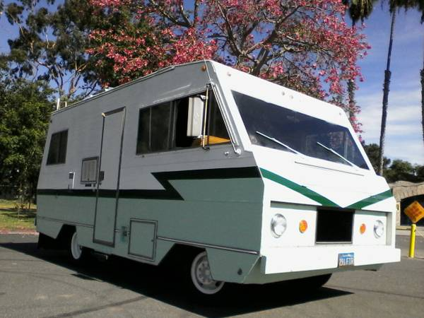 Used RVs Classic Motorhome, 1972 Dodge Escapade For Sale by