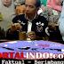 Presiden RI Joko Widodo Menikmati Kopi Di Warkop Hj Anto Di Kota Kendari