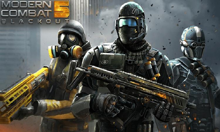 تحميل لعبة Modern Combat 5 للاندرويد اخر إصدار
