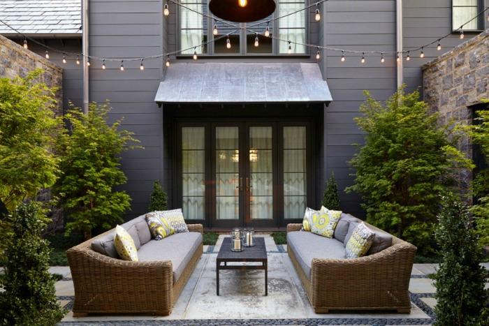 Ideas para iluminar el jard n marcando estilo guia de jardin for Iluminacion caminos jardin