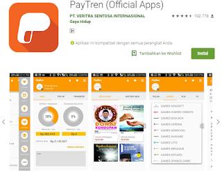 Aplikasi Paytren di Tahun 2018
