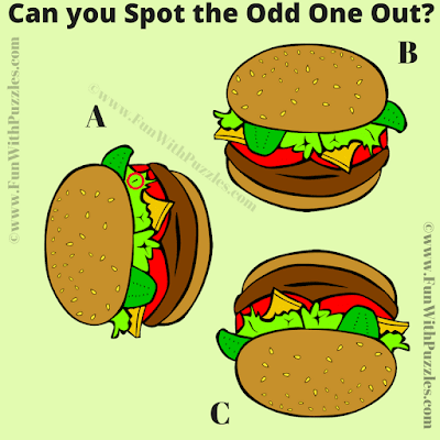 Answer of Brain Testing Odd One Out Puzzle
