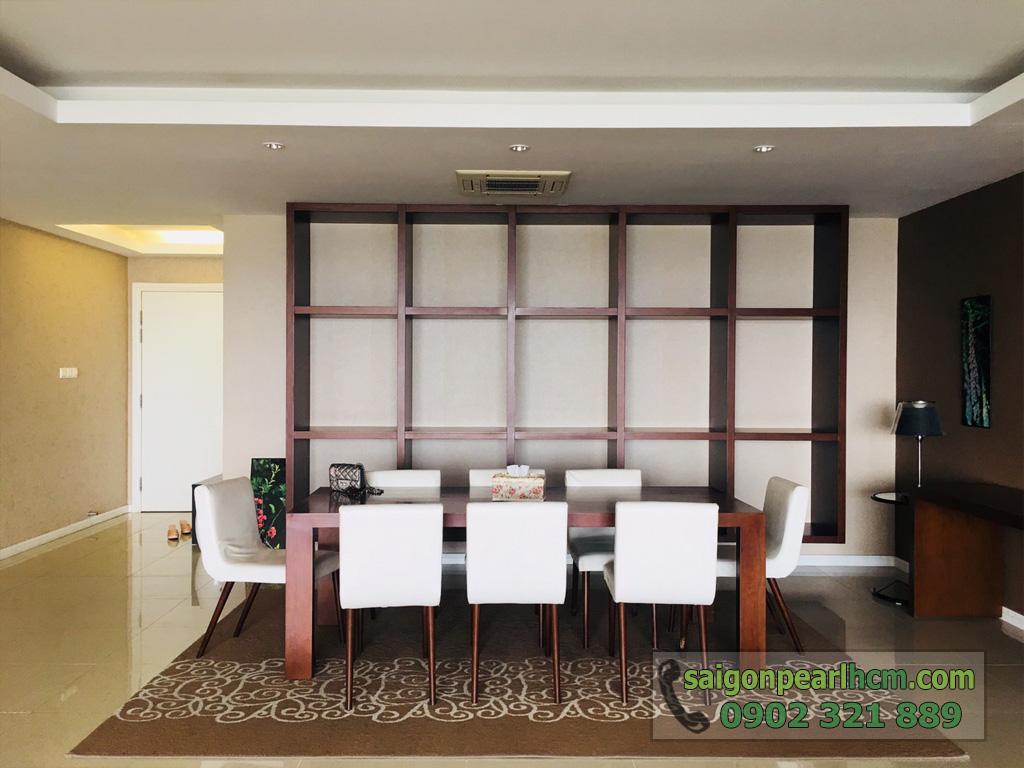 Cho thuê Saigon Pearl căn hộ 4 phòng ngủ 206m2 Ruby 1 view sông Sài Gòn - hình 11
