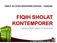 Materi Dauroh Fiqih Sholat Kontemporer | Download PowerPoint