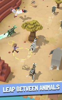 Game Rodeo Stampede Sky Zoo Safari V1.3.3 MOD Apk Terbaru