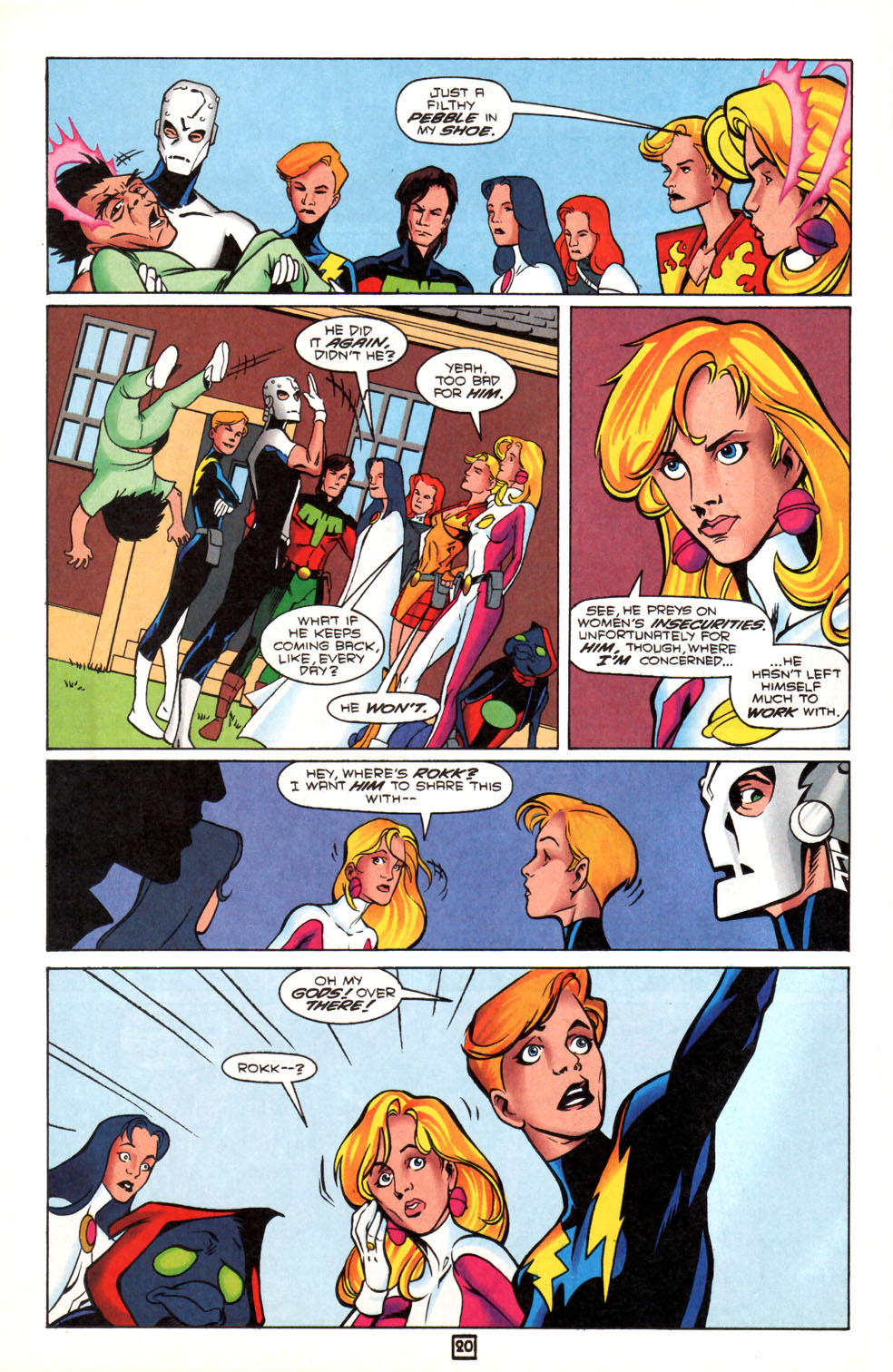 Legion of Super-Heroes (1989) 90 Page 20
