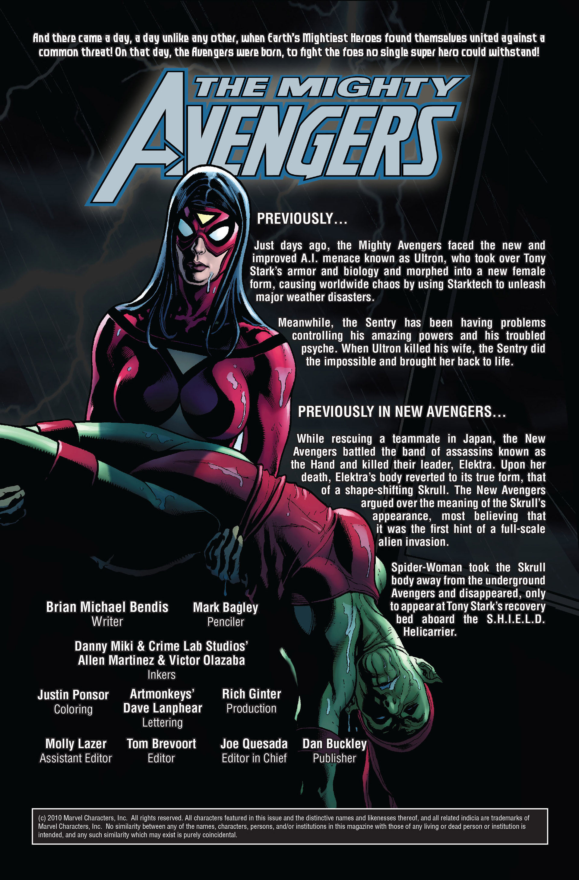 Read online Secret Invasion: The Infiltration comic -  Issue #1 - 2