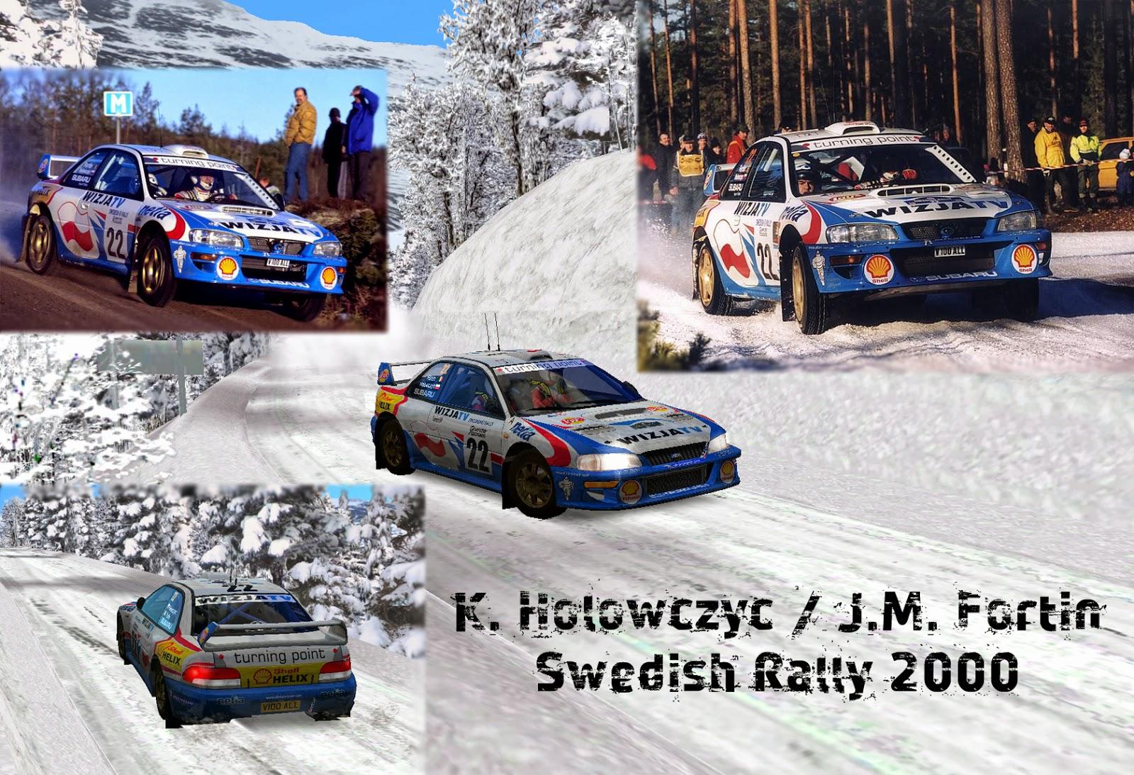 Afbeeldingsresultaat voor Hołowczyc 2000 Swedish