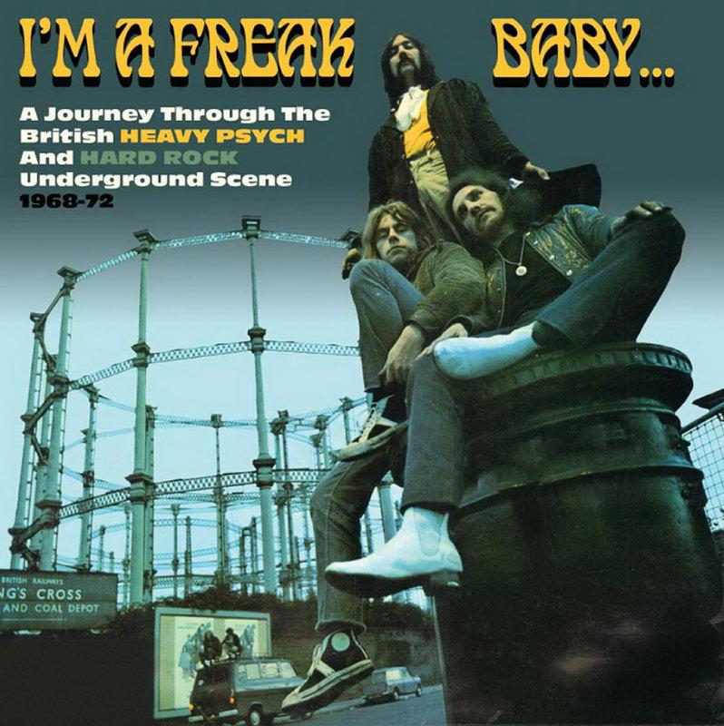 645818a3dd ENTRE MUSICA  I M A FREAK BABY - 1968 - 72 Varios artistas (3 CDs)