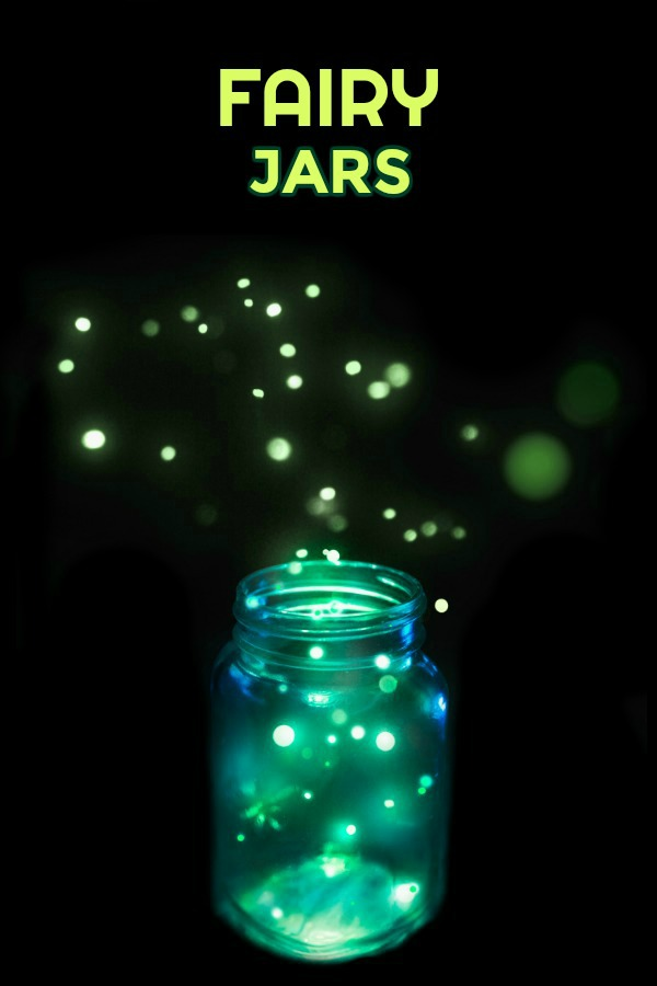 Fairy Jars Craft For Kids