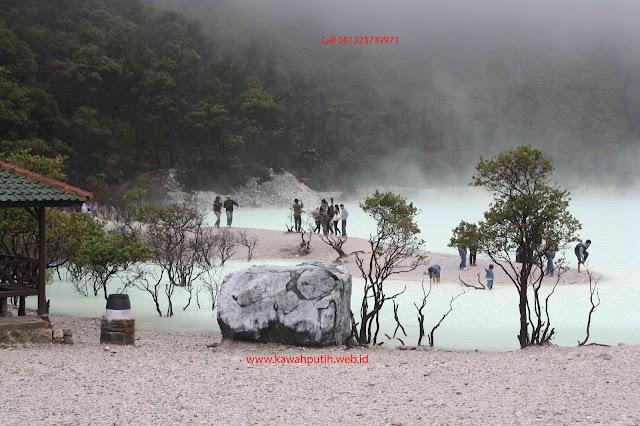Paket wisata kawah putih dari purworejo